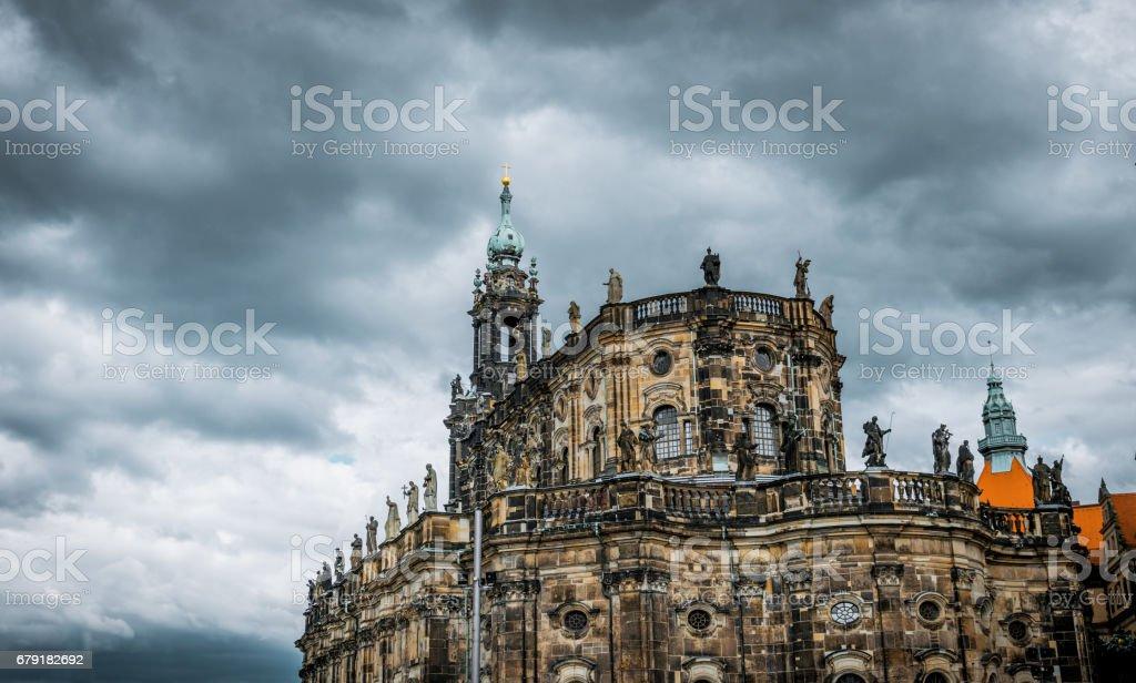 Historic city of Dresden photo libre de droits