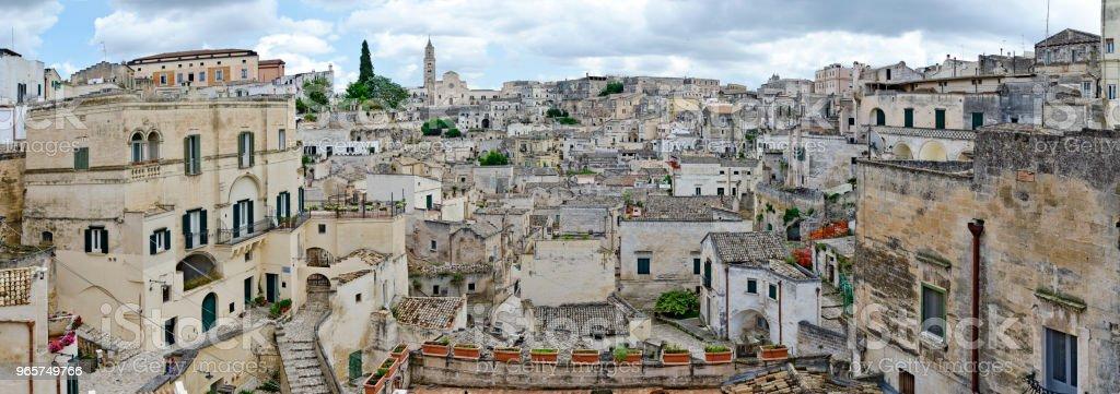Historic city of Matera - Royalty-free Architecture Stock Photo