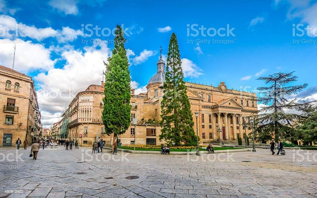 Historic City of Salamanca, Castilla y Leon region, Spain stock photo