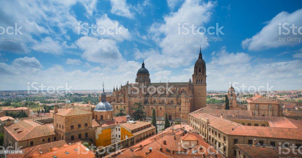 Historic city of Salamanca stock photo