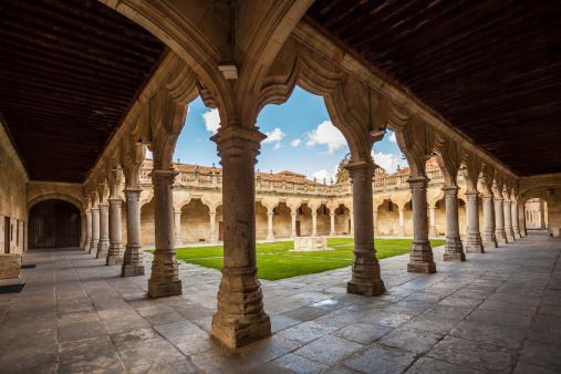 istock Historic cloister in Salamanca 457946049