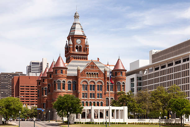 Historische Gerichtsgebäude in Dallas, USA – Foto