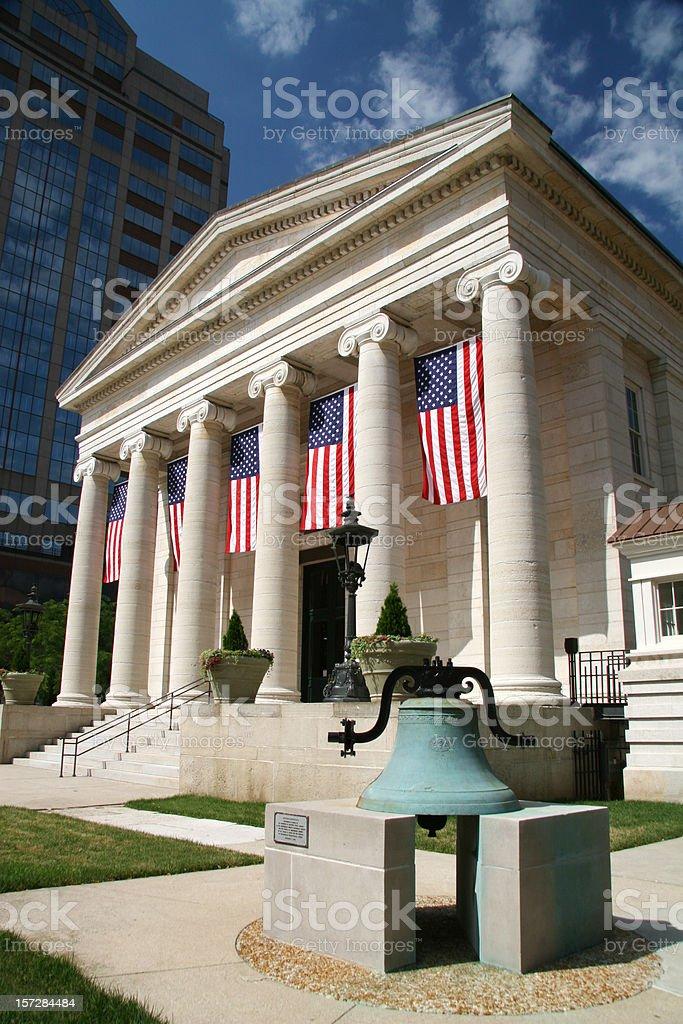 Historic Dayton Courthouse 1, Dayton, Ohio royalty-free stock photo
