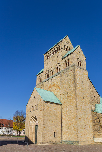 Historic Dom Church At The Domhof Square In Hildesheim Germany Stock Photo - Download Image Now