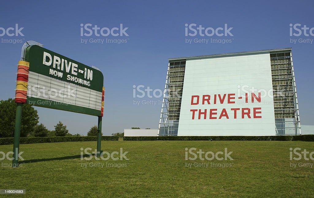 Historic Drive-In stock photo