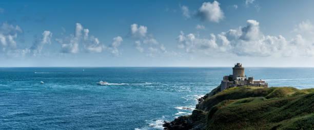 historische Festung Fort La Latte an der Smaragdküste Frankreichs – Foto
