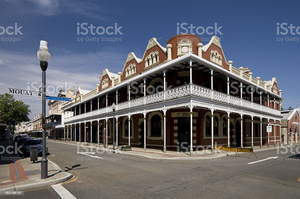 Historic Fremantle stock photo