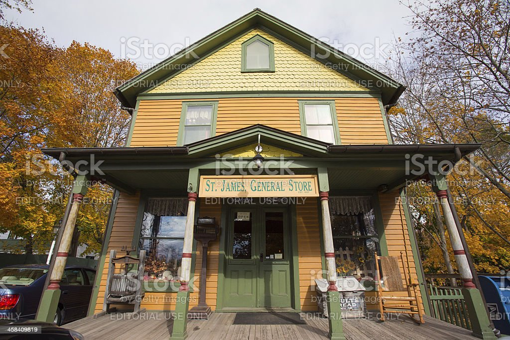 Historic General Store stock photo