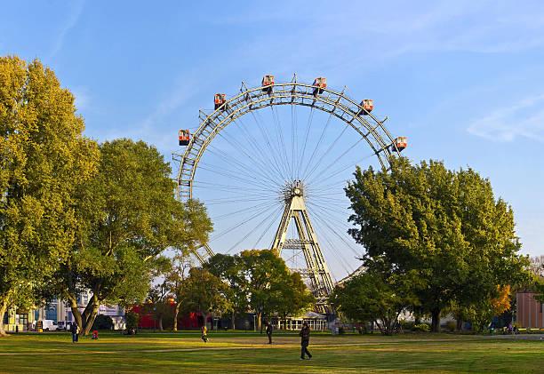 Historischer Großer-Rad von Wien – Foto