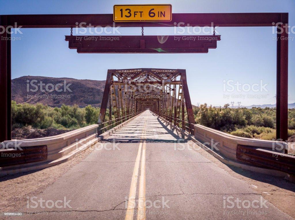 Histórico puente de presa de Gillespie - Foto de stock de Abierto libre de derechos