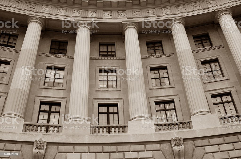 Historic Government Building stock photo