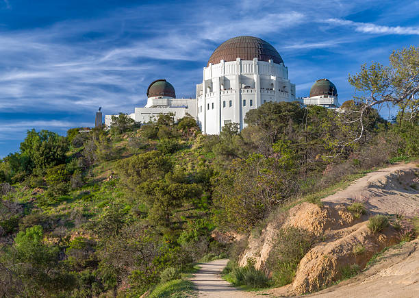 Historic Griffith Observatory stock photo