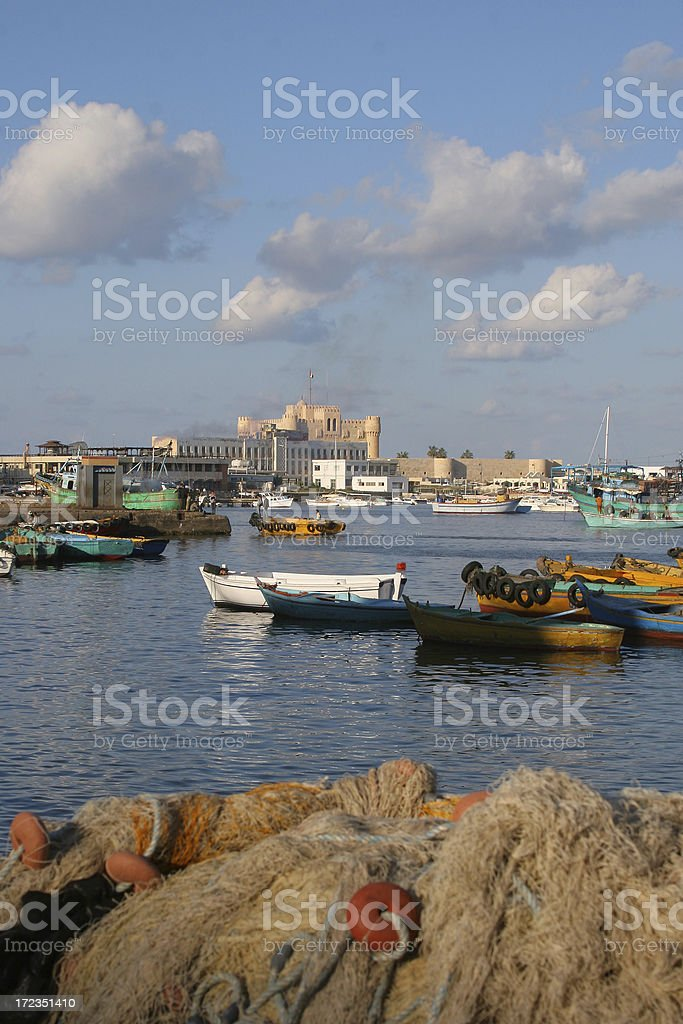 Historic Harbour royalty-free stock photo