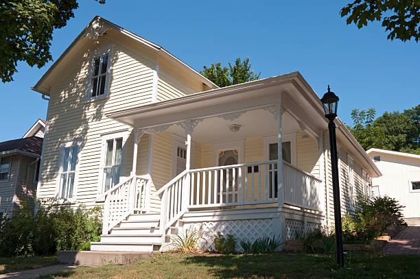 Historic Home of Local Author in Mankato stock photo