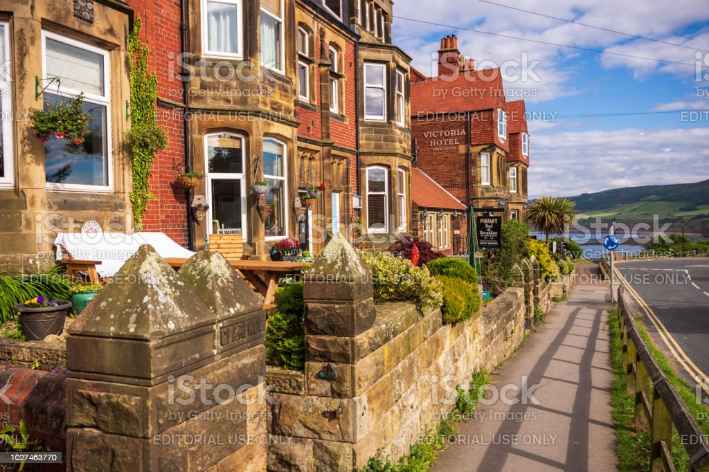 Robin Hood\'s Bay is an old fishing village on the Yorkshire coastline...