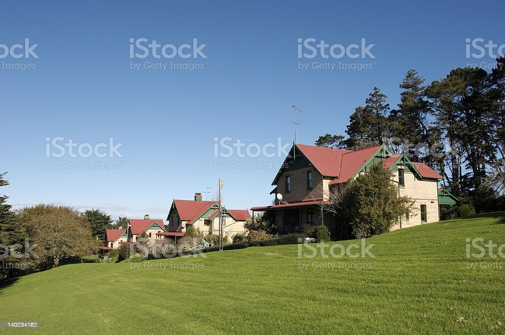 Historic Homes stock photo