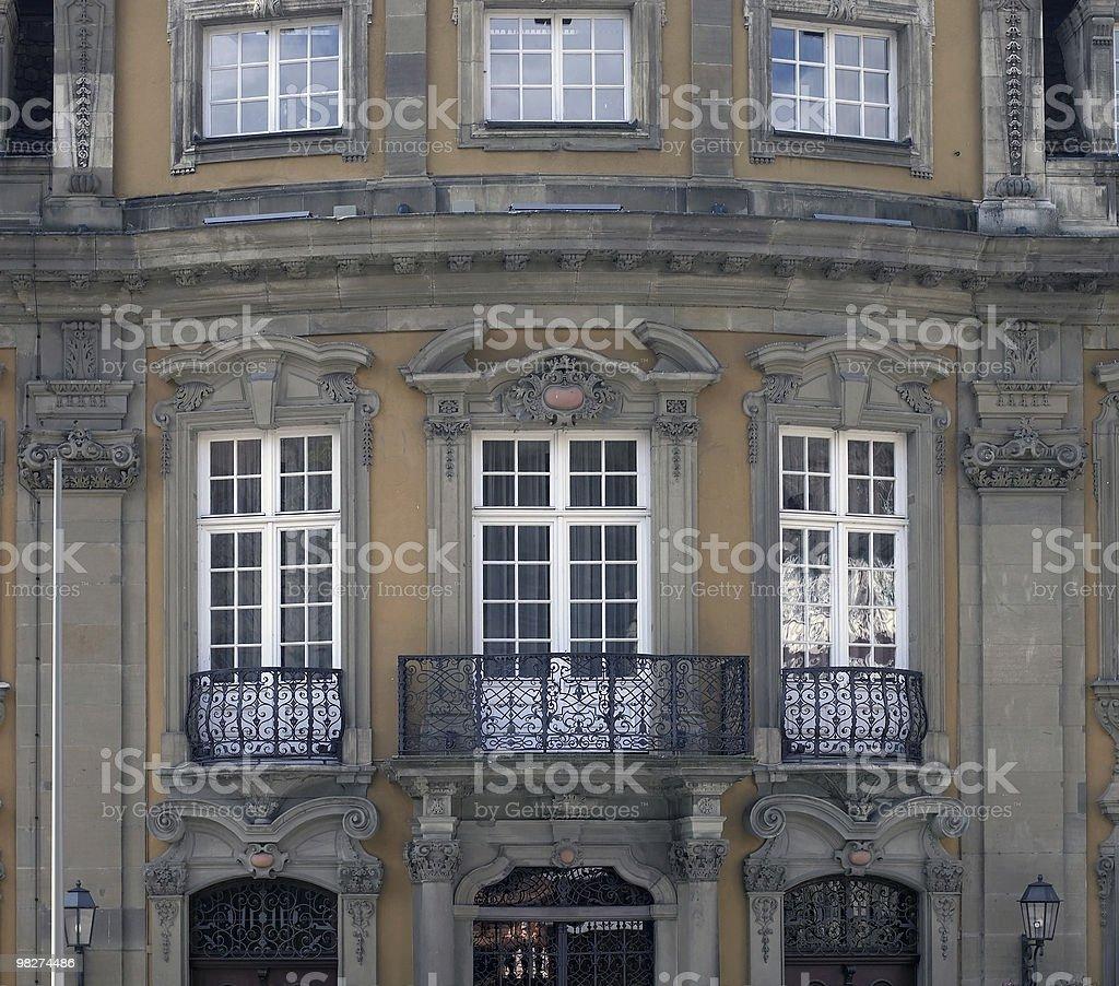 historic house facade royalty-free stock photo