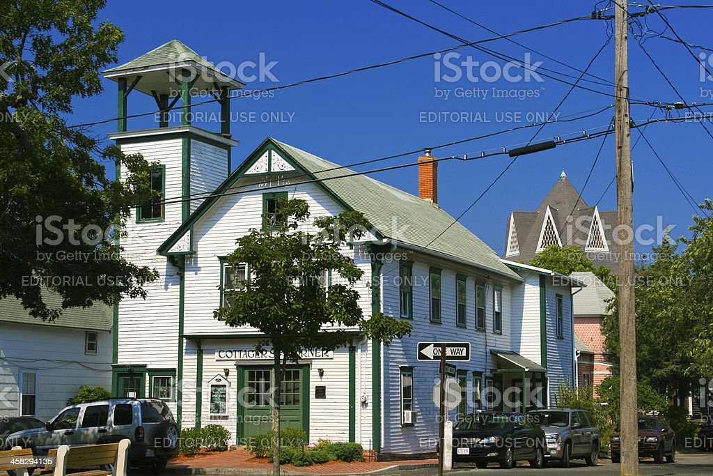 Historic House, Martha's Vineyard. royalty-free stock photo