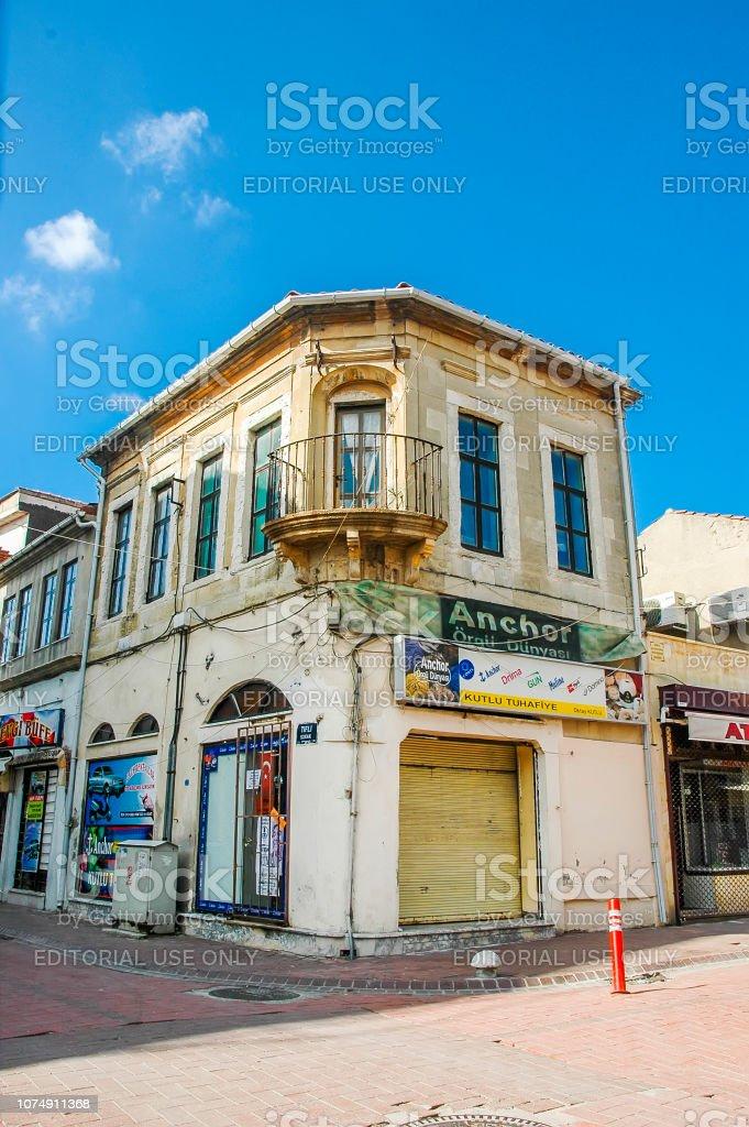 Maison historique sur les rues de Canakkale - Photo