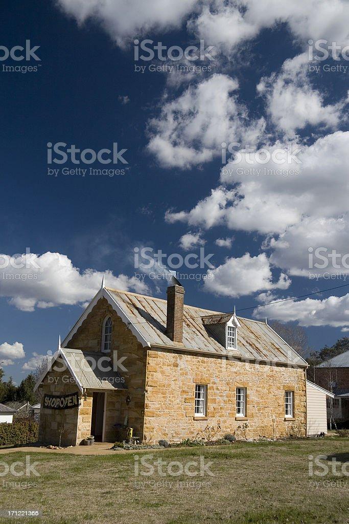 Historic house royalty-free stock photo