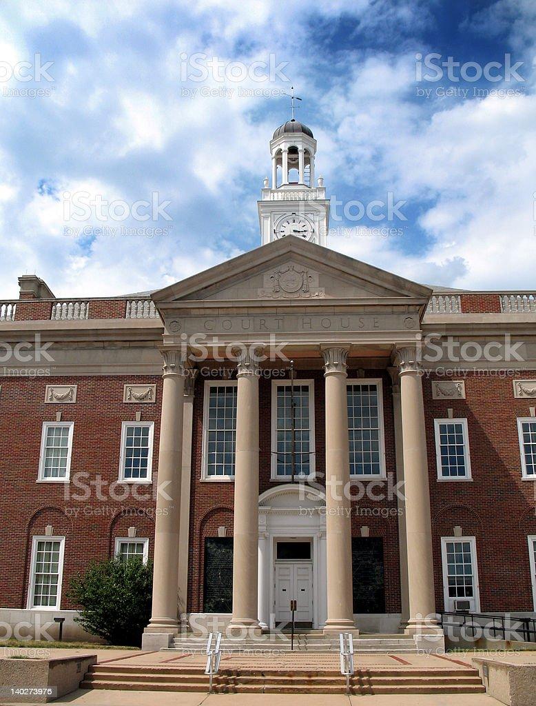 Historic Independence Missouri Courthouse royalty-free stock photo