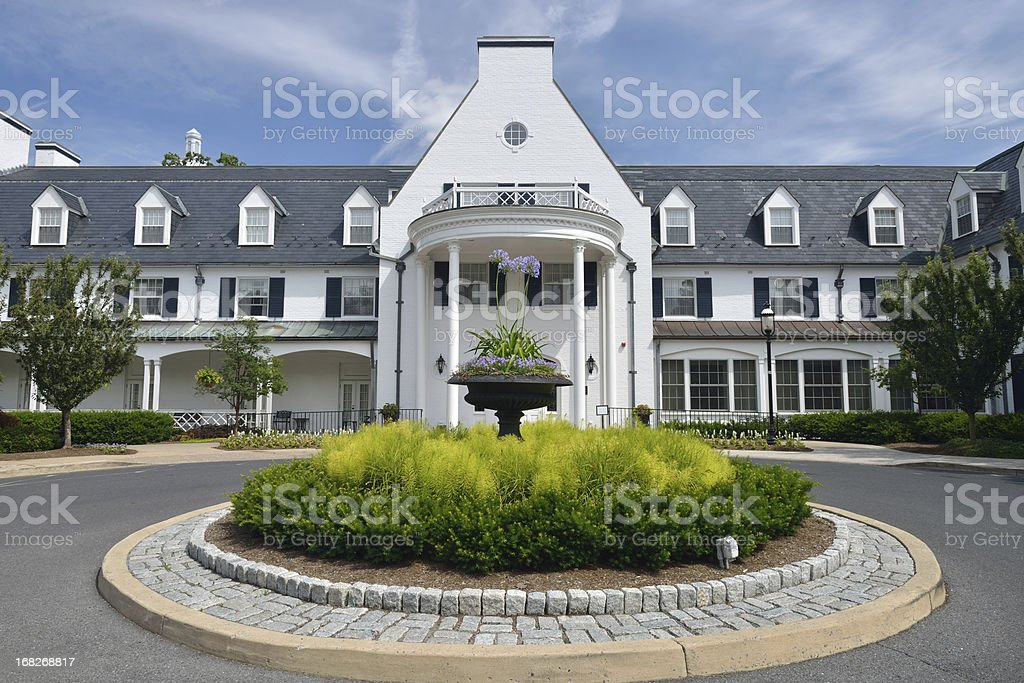 Historic Inn in State College stock photo