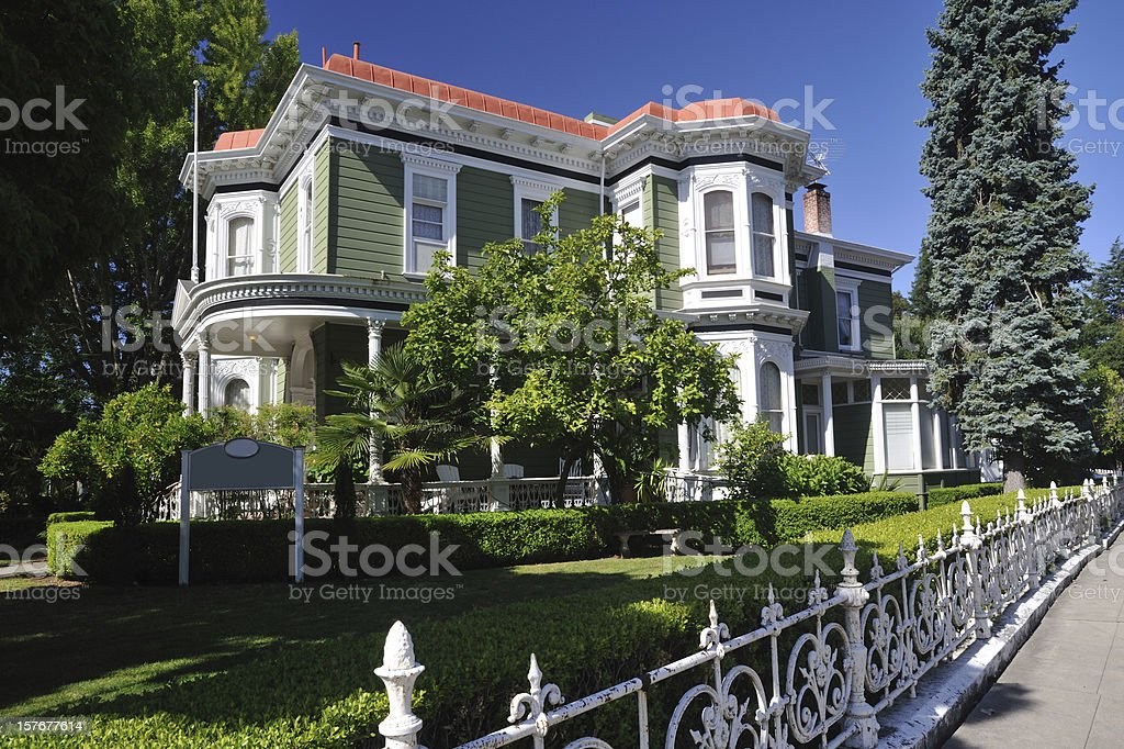 Historic Inn stock photo