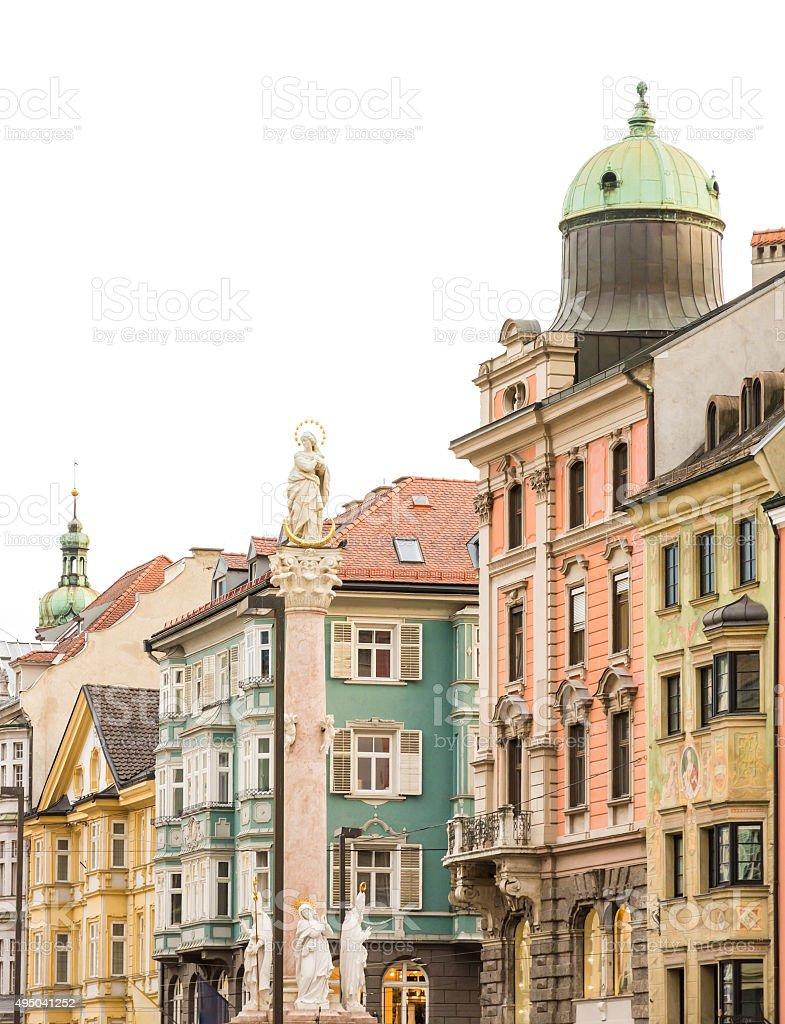Historic Innsbruck stock photo