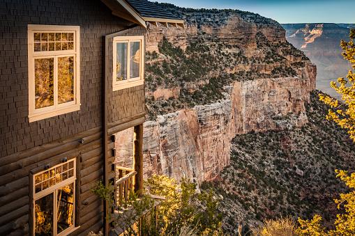 Historic Kolb Studio Art and History. Grand Canyon, Arizona, USA