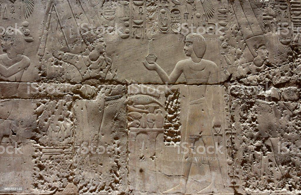 Historique historique d'Egypte Temple Louxor, un monument architectural, un bâtiment ancien - Photo de Afrique libre de droits