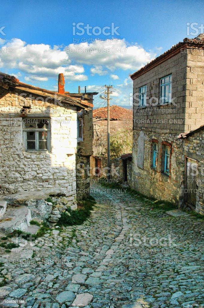 Maisons historiques locaux Kilitbahir sur Canakkale - Photo