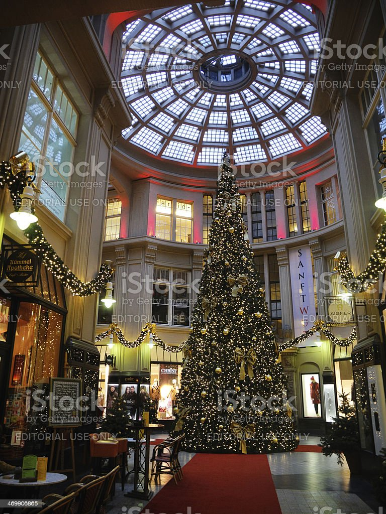 The famous, historic Maedler passage situated in the center of...