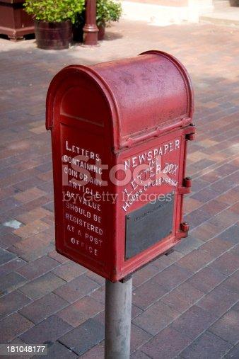 104742848istockphoto Historic mailbox 181048177