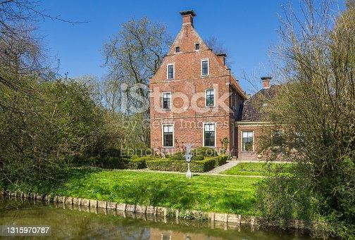 istock Historic mansion Piloersemaborg in Groningen 1315970787