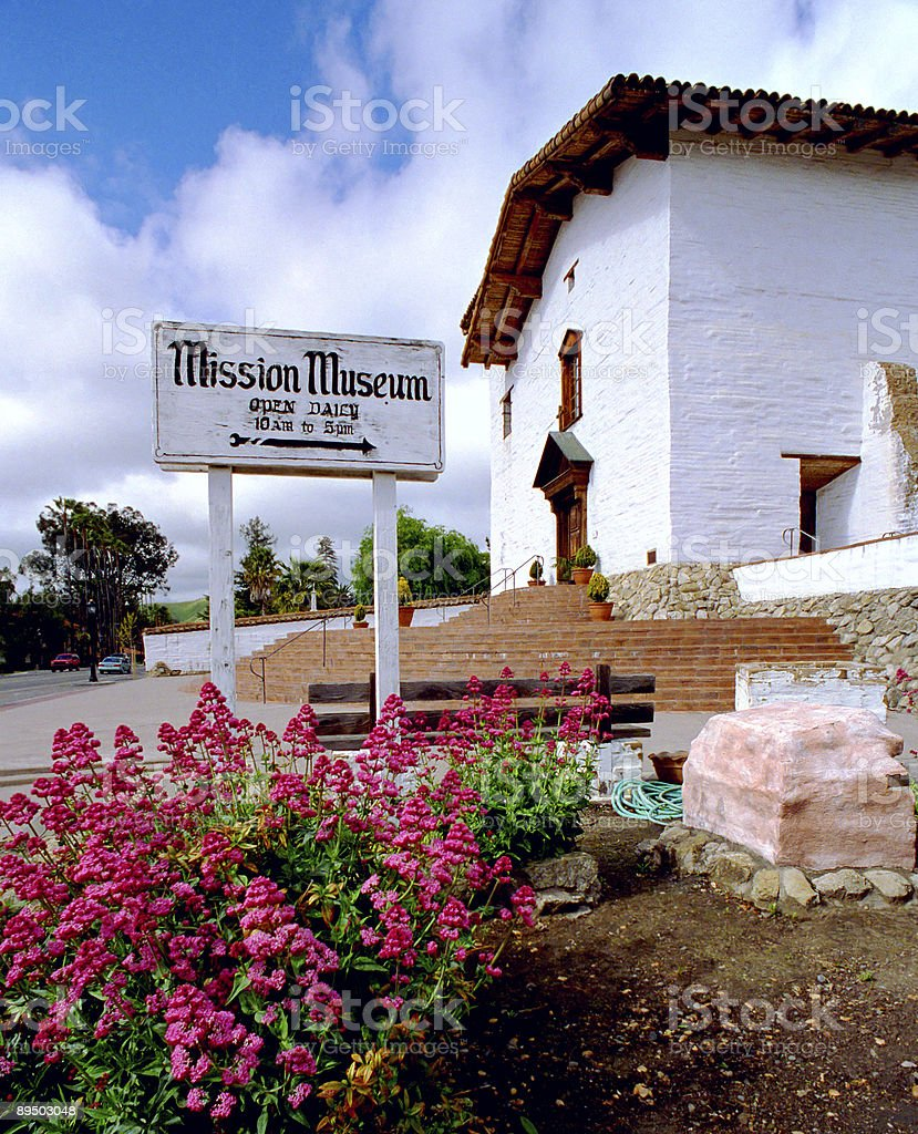 Historic Mission San Jose, Fremont California royalty-free stock photo