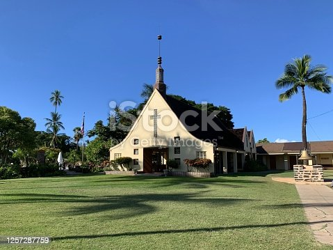 I visited Lahaina, a port town that thrived in whaling. After attending the mass of the Waiola Church on October 6, 2019, I visited the historical sites. This is the Waiora Church associated with Queen Kamehameha. The temperature rose considerably on this day. In Hawaiian, Lahaina means
