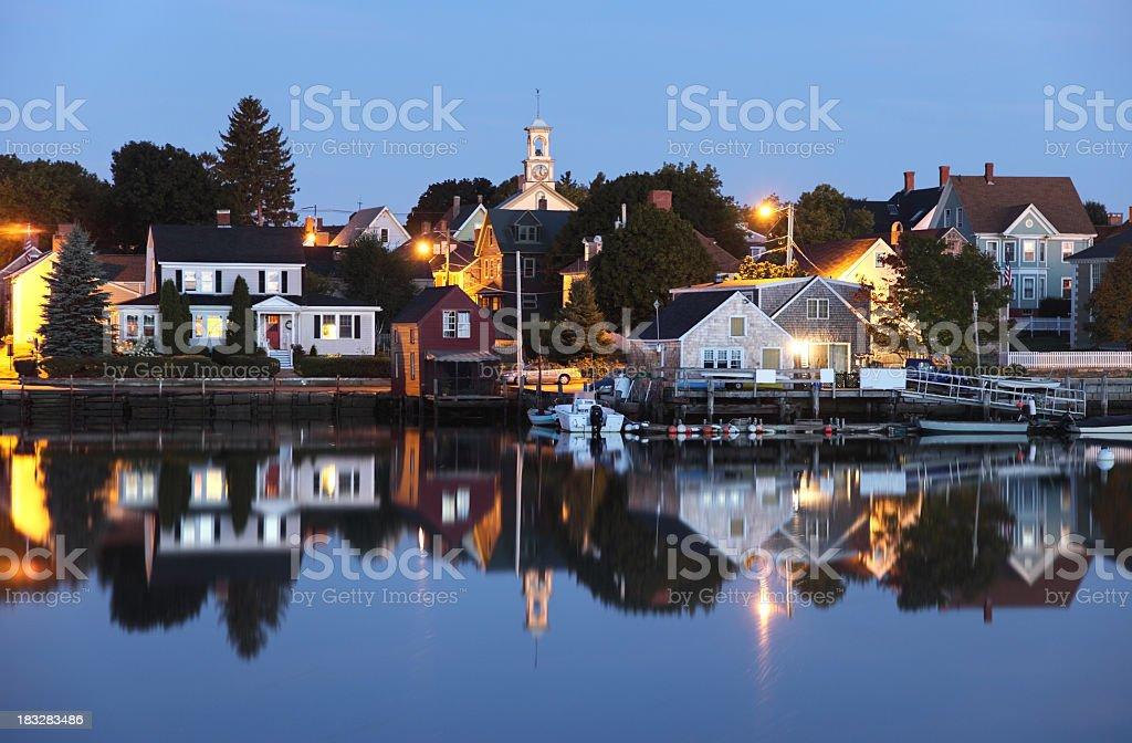 Historic Portsmouth, New Hampshire royalty-free stock photo