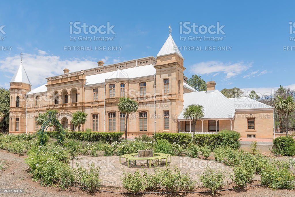 Historic Presidency in Bloemfontein stock photo