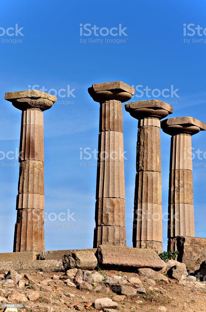 Historic Relics At Asos stock photo