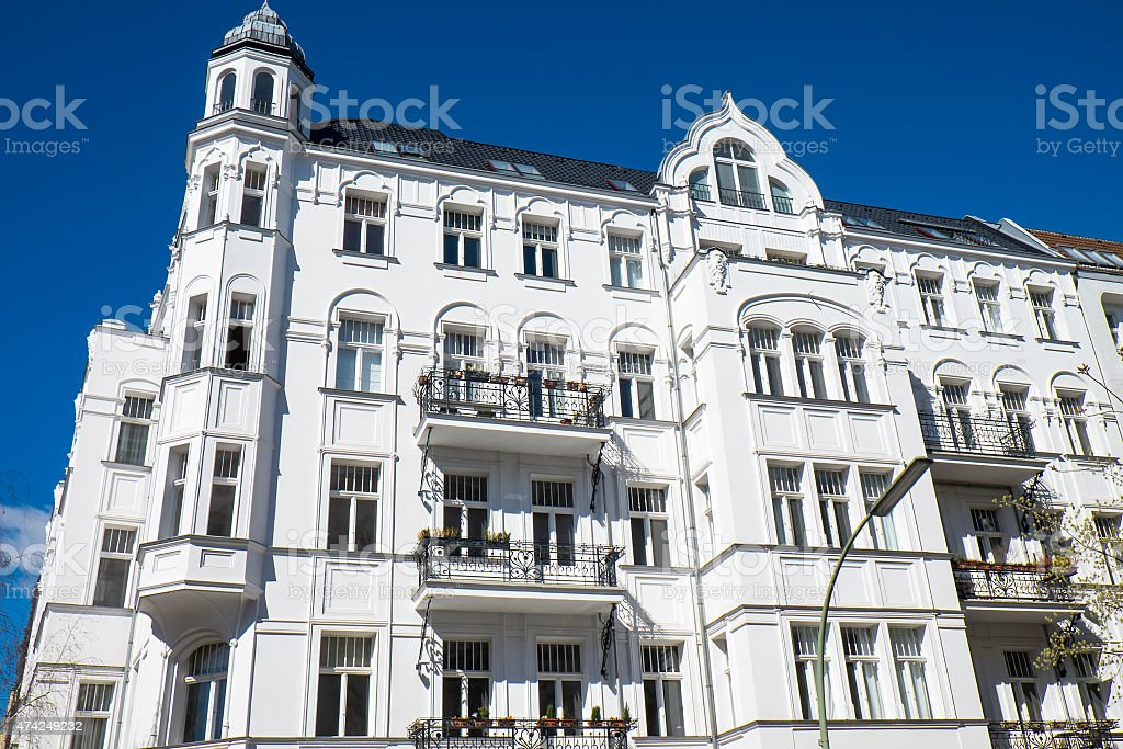 Historic residential building stock photo