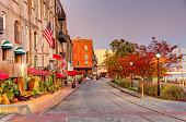 istock Historic River Street in Savannah, Georgia 1197219563