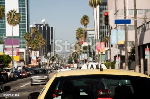 144334852 istock photo historic route 66, the sunset strip 183241234