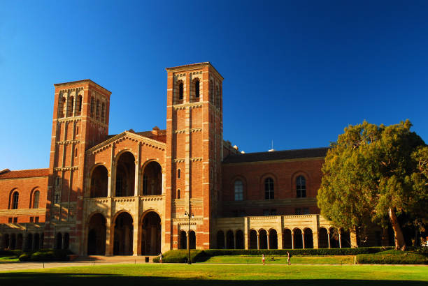 UCLA, Historic Royce Hall Los Angeles, CA, USA September 23, 2008 Royce Hall on the University of California Los Angeles is one of the oldest buildings on campus and serves as the performing arts center royce hall stock pictures, royalty-free photos & images