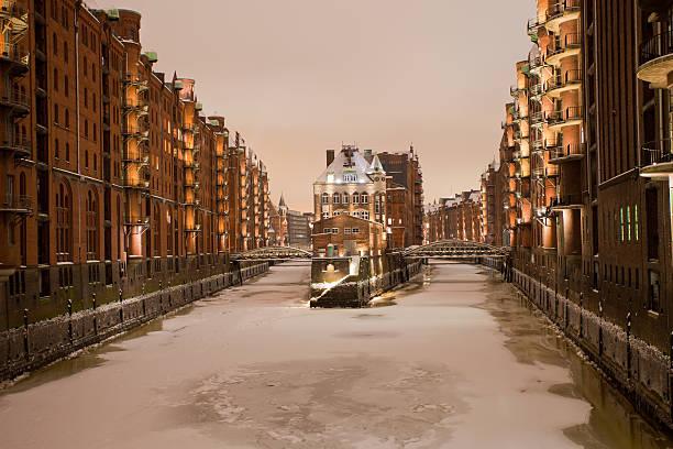 Die historische Speicherstadt Hamburg – Foto