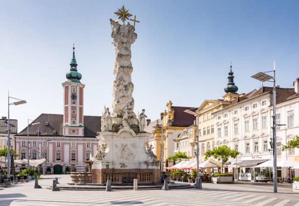 Historischen Platz in Sankt Pölten – Foto