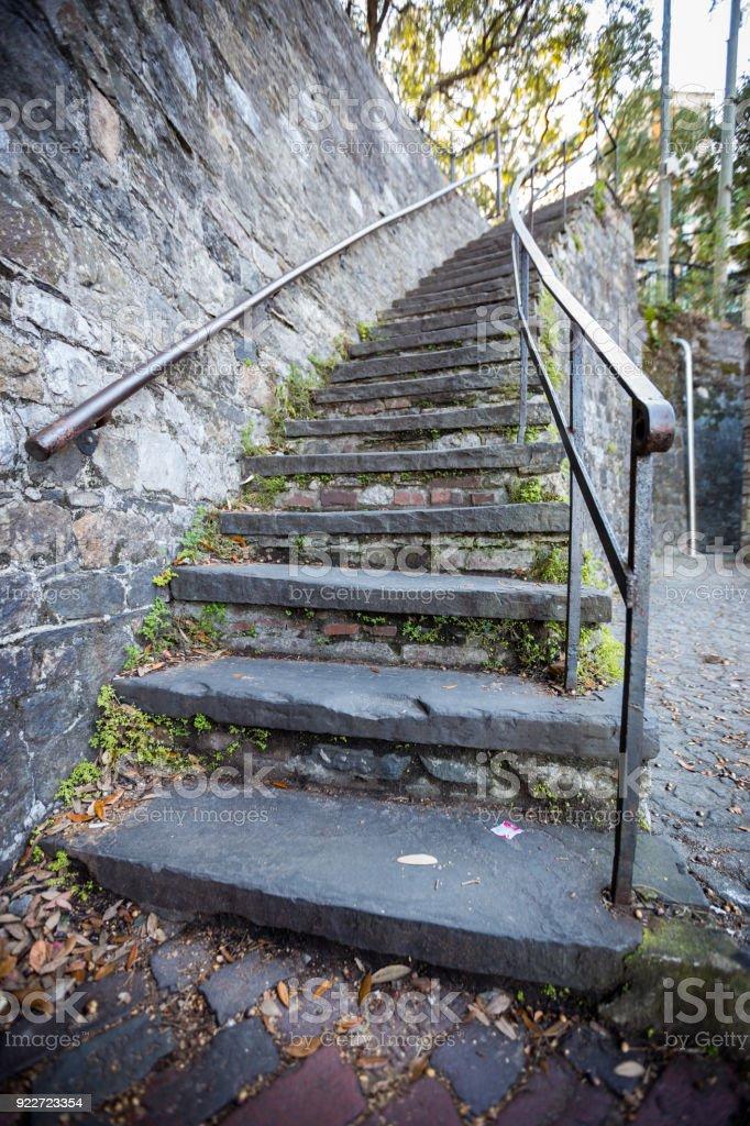 Historic Stairways stock photo