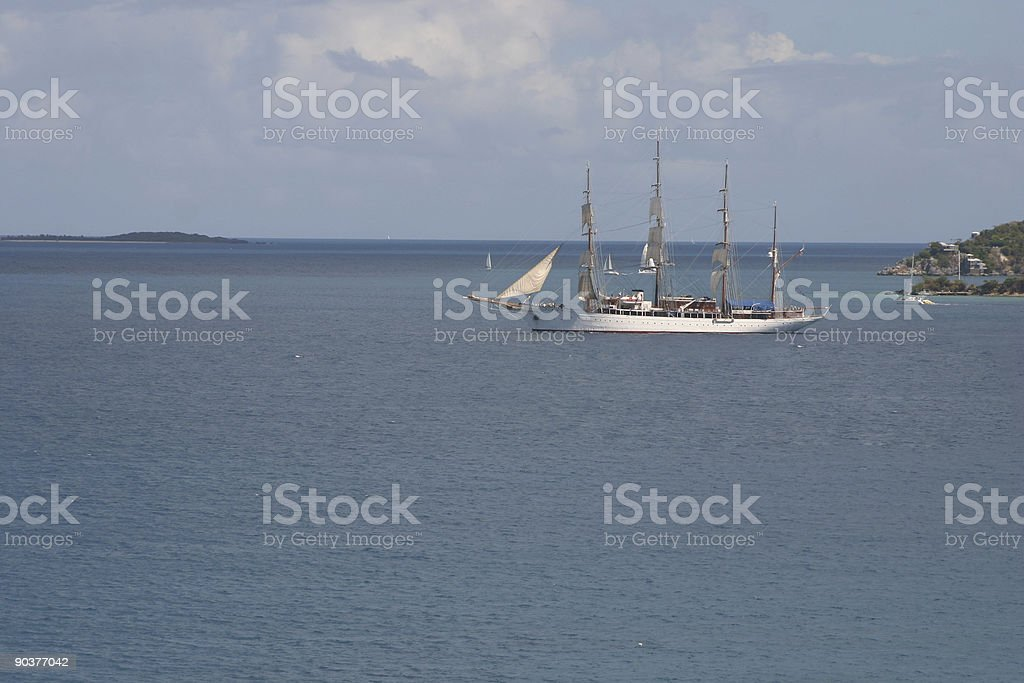 historic tall ship royalty-free stock photo