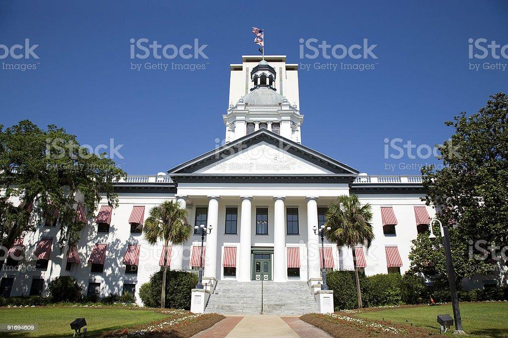 Historic Tallahassee Florida Capital Building stock photo