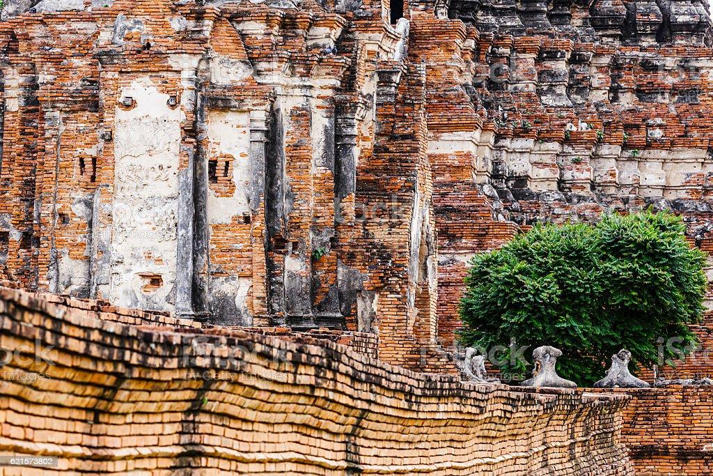 Historic temple in Ayutthaya, Thailand photo libre de droits