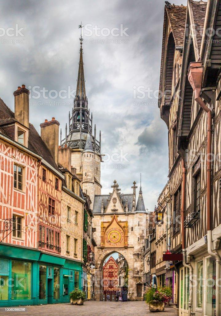Ville historique d'Auxerre, Bourgogne, France - Photo